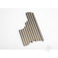 Suspension pin set, complete (hardened steel, front & rear), 3x27mm (4pcs), 3x35mm (2pcs), 3x52mm (4pcs)