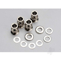 Shim set, 3x7x1mm (2pcs), 3x6x0.5mm (4pcs), 3x7x2mm (2pcs) / hollow balls, captured (4pcs)