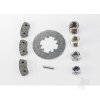 Rebuild kit, slipper clutch (steel disc / friction pads (3pcs) / spring (2pcs) / pin / 4.0mm NL (1pc) / 5.0mm NL (1pc))