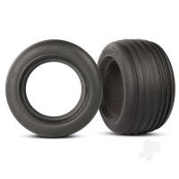 Tyres, ribbed 2.8in (2pcs) / foam inserts (2pcs)