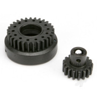 Gear set, two-speed (2nd speed 29T / input 17T steel)