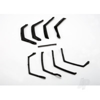 Fender flairs, front & rear (4pcs) / fender flair retainers, front & rear (4pcs) / 2.5x6mm CS (22)