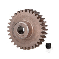 31-T Pinion Gear (0.8 metric pitch, compatible with 32-pitch) Set (fits 5mm shaft)