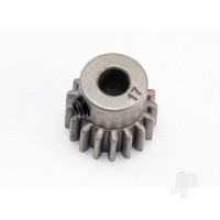 17-T Pinion Gear (0.8 metric pitch, compatible with 32-pitch) Set (fits 5mm shaft)