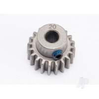 20-T Pinion Gear (0.8 metric pitch, compatible with 32-pitch) Set (fits 5mm shaft)