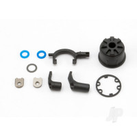 Carrier, Differential (heavy duty) / Differential fork / linkage arms (front & rear) / x-ring gaskets (2pcs) / ring gear gasket / bushings (2pcs) / 6.5x10x0.5 TW