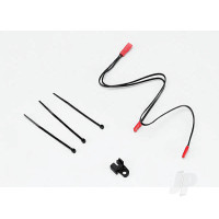 LED lights, center harness, Summit (1pc) / wire clip (1pc)
