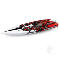 New Red Spartan: Brushless 36in Race Boat (+ TQi ,TSM)