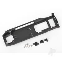 Radio tray / radio tray retainer (2pcs) / stuffing tube clamp / 4x16mm BCS (stainless) (2pcs) / 4x10mm BCS (stainless) (2pcs)