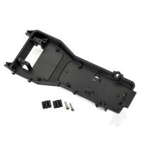 Radio tray / radio tray retainer (2pcs) / 4x16mm BCS (stainless) (2pcs)