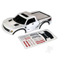 Body, Ford Raptor, white (first generation) (painted, decals applied)