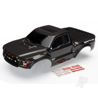 Body, Ford Raptor, black (heavy duty) / decals