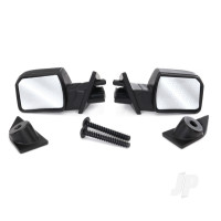 Mirrors, side (left & right) / mounts (left & right) / 2.6x8mm BCS (2pcs)