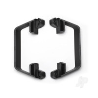 Nerf bars, low CG (black)