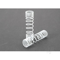 Springs, rear (white) (progressive rate) (2pcs)