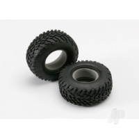 Tires, off-road racing, SCT dual profile 4.3x1.7- 2.2 / 3.0in (2pcs) / foam inserts (2pcs)