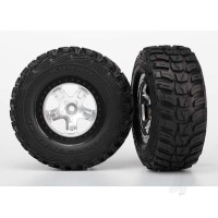 Tyres and Wheels, Assembled Glued Kumho Tyres (2 pcs)