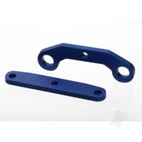 Bulkhead tie bars, Front & Rear, aluminium (Blue-anodized)