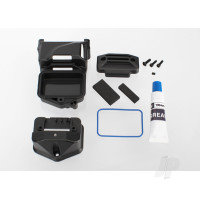 Box, receiver (sealed) (servo mount) / foam (2 pcs) / BCS 3x10mm / CS 2.5x8mm (2 pcs) / GS 3x4mm / silicone grease