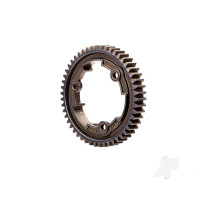 Spur gear, 50-tooth, steel (wide-face, 1.0 metric pitch)