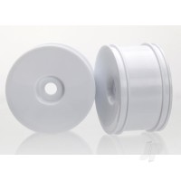 Wheels, dished (white, dyeable) (rear) (2pcs)
