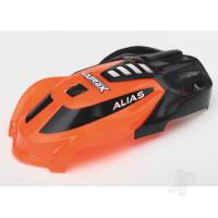Canopy, Alias, orange / 1.6x5mm BCS (self-tapping) (3pcs)