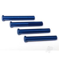 Main shaft, 7075-T6 aluminium, blue-anodized (4pcs) / 1.6x5mm BCS (4pcs)