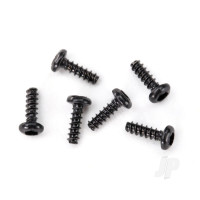 Screws, 1.6x5mm button-head, self-tapping (hex drive) (6pcs)