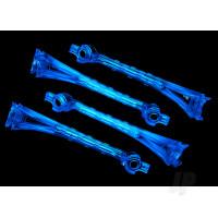 LED lens, blue (4pcs)