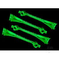 LED lens, green (4pcs)