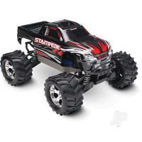 Black Stampede 1:10 4X4 Monster Truck (+ TQ, XL-5, Titan 550, 7-Cell NiMH, DC Charger)