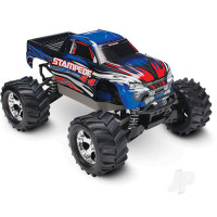 Blue Stampede 1:10 4X4 Monster Truck (+ TQ, XL-5, Titan 550, 7-Cell NiMH, DC Charger)