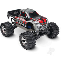 Silver Stampede 1:10 4X4 Monster Truck (+ TQ, XL-5, Titan 550, 7-Cell NiMH, DC Charger)
