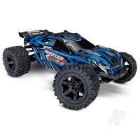 Blue Rustler 1:10 4X4 Stadium Truck (+ TQ, XL-5, 7-Cell NiMH, DC charger)