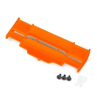 Wing, Rustler 4X4 (orange) / 3x8 FCS (3pcs)