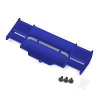 Wing, Rustler 4X4 (blue) / 3x8 FCS (3pcs)