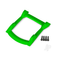 Skid plate, roof (body) (green) / 3x12 CS (4pcs)
