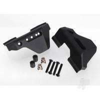 Suspension arm guards, rear (2pcs) / guard spacers (2pcs) / hollow balls (2pcs) / 3X16mm BCS (8pcs)