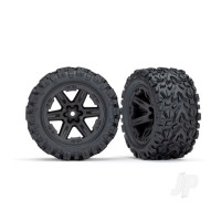 RXT black wheels & Tyres (Pair)