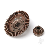 Ring gear, differential / pinion gear, differential (12 / 47 ratio) (rear)