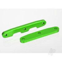 Bulkhead tie bars, Front & Rear, aluminium (Green-anodized)