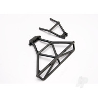 Bumper, Rear / bumper mount, Rear (black)