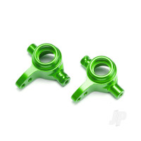 Steering blocks, 6061-T6 aluminium (Green-anodized), left & right