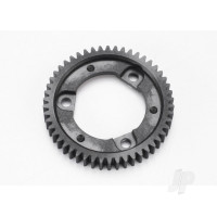 Spur gear, 50-tooth (0.8 metric pitch, compatible with 32-pitch) (for center differential)