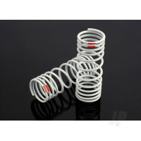 Springs, front (progressive, -20% rate, orange) (2pcs)