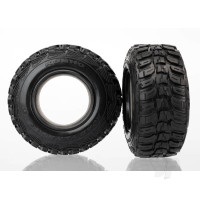 Tyres, Kumho, ultra-soft (S1 off-road racing compound) (dual profile 4.3x1.7- 2.2 / 3.0in) (2pcs) / foam inserts (2pcs)