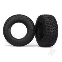 Tyres, BFGoodrich Mud-Terrain T / A KM2 (dual profile 4.3x1.7- 2.2 / 3.0in) (2pcs) / foam inserts (2pcs)