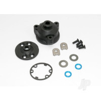 Housing, center Differential / x-ring gaskets (2 pcs) / ring gear gasket / bushings (2 pcs) / 5x10x0.5 TW (2 pcs) / CCS 2.5x8 (4 pcs)