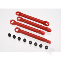 Push rod (moulded composite) (Red) (4 pcs) / hollow balls (8 pcs)