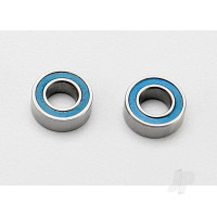 Ball bearings, blue rubber sealed (4x8x3mm) (2pcs)